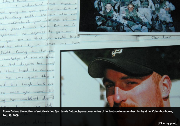 Once A Soldier blog, a charity that helps the survivors