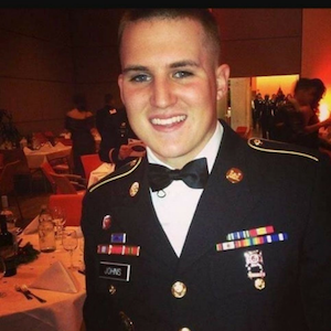 JEROD JOHNS before soldier suicide