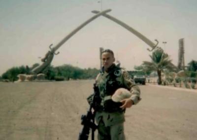Cedrick Taylor active duty iraq