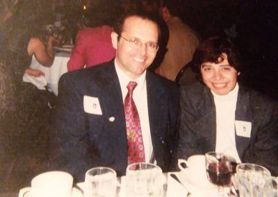 Robert Zaza and son Michael
