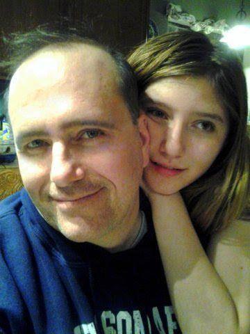 Robert Zaza and his daughter Micah